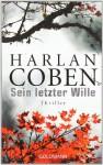 Sein letzter Wille - Harlan Coben