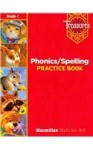 Phonics / Spelling Practice Book, Grade 1 (Treasures) - Macmillan, McGraw-Hill Publishing