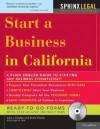 Start a Business in California [With CDROM] - John Talamo, Mark Warda
