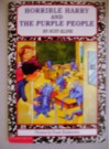 Horrible Harry and the Purple People - Suzy Kline, Frank Remkiewicz