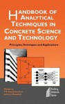 Handbook of Analytical Techniques in Concrete Science and Technology: Principles, Techniques and Applications - V.S. Ramachandran, James J. Beaudoin