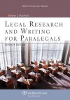 Legal Research and Writing for Paralegals, Seventh Edition - Deborah E. Bouchoux
