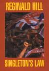 Singleton's Law (G K Hall Large Print Book Series) - Reginald Hill, K.C. Constantine