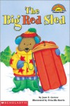 The Big Red Sled (level 1) - Jane E. Gerver, Priscilla Burris