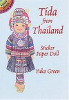 Tida from Thailand Sticker Paper Doll - Yuko Green