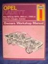 Opel Kadett Owner's Workshop Manual - John Harold Haynes, Ian Coomber
