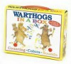 Warthogs in a Box: Counting, Colors, Sounds [With Stickers] - Pamela Duncan Edwards