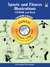 Sports and Fitness Illustrations CD-ROM and Book - Dover Publications Inc.
