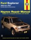 Ford Explorer 2002 thru 2007: Includes Mercury Mountaineer - John Harold Haynes