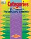 Categories: 122 Thematic Vocabulary Lessons - Barbara Gregorich