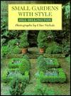 Small Gardens with Style - Jill Billington