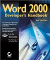 Word 2000 Developer's Handbook - Guy Hart-Davis