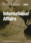 Who's Who in International Affairs - Routledge