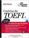Cracking the TOEFL with Audio CD, 2003 Edition [With CD] - Princeton Review, George Miller, Timothy Wheeler