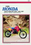 Honda Cr205r-500r Pro-Link, 1981-1987: Service, Repair, Maintenance - Ed Scott