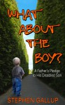 What About the Boy? A Father's Pledge to His Disabled Son - Stephen Gallup