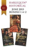 Harlequin Historical June 2013 - Bundle 1 of 2: The Honor-Bound GamblerA Reputation for NotorietyHis Lady of Castlemora - Lisa Plumley, Diane Gaston, Joanna Fulford