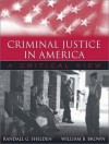 Criminal Justice in America: A Critical View - Randall G. Shelden, William B. Brown