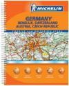 Deutschland, Benelux, Österreich, Schweiz, Tschechische Republik Straßen Und Reiseatlas = Allemagne, Benelux, Autriche, Suisse, République Tchéque - Michelin Travel Publications
