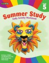 Summer Study Daily Activity Workbook: Grade 5 (Flash Kids Summer Study) - Flash Kids Editors