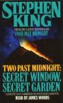 Two Past Midnight: Secret Window, Secret Garden (Preloaded Digital Audio Player) - James Woods, Stephen King