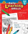 Daily Learning Drills, Grade 1 - Vincent Douglas