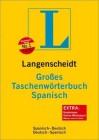 Langenscheidt Großes Taschenwörterbuch Spanisch - Langenscheidt