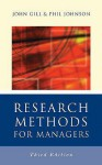 Research Methods for Managers - John Gill, Phil Johnson