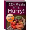 224 Meals in a Hurry - Quick and Easy Recipes Cookbook - J. Smith, Fast Meals Publishing