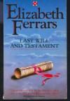 Last Will And Testament - E.X. Ferrars