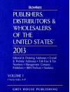 Publishers, Distributors & Wholesalers in the Us, 2013 - R.R. Bowker