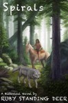 Spirals - Ruby Standing Deer