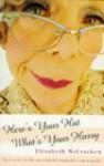 Here's Your Hat What's Your Hurry - Elizabeth McCracken, Elizabeth McCra