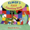 Elmer's First Counting Book - David McKee