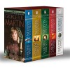 George R. R. Martin's A Game of Thrones 5-Book Boxed Set (Song of Ice and Fire series): A Game of Thrones, A Clash of Kings, A Storm of Swords, A Feast for Crows, and A Dance with Dragons - George R.R. Martin