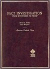 Binder and Bergman's Fact Investigation: From Hypothesis to Proof - David A. Binder