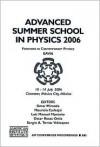 Advanced Summer School in Physics 2006 EAV06: Frontiers in Contemporary Physics (AIP Conference Proceedings) - Sergio A. Tomas, Omar Miranda-Romagnoli, Mauricio Carbajal, Luis Manuel Montano