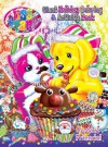 Lisa Frank Festive Friends Holiday Giant Coloring & Activity Book - Modern Publishing, Lisa Frank