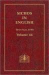 Sichos In English: Volume 44 - Teves-Iyar, 5750 - Menachem M. Schneerson