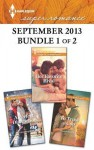 Harlequin Superromance September 2013 - Bundle 1 of 2: Her Favorite RivalA Perfect DistractionTo Trust a Cop - Sarah Mayberry, Anna Sugden, Sharon Hartley