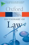 A Dictionary of Law - Jonathan Law