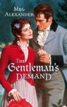 Mills & Boon : The Gentleman's Demand (Regency) - Meg Alexander