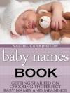 Baby Names Book - Rachel Carrington
