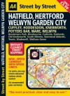 AA Street by Street: Hatfield, Hertford, Welwyn Garden City - A.A. Publishing, A.A. Publishing