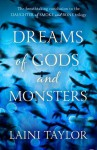 Dreams of Gods and Monsters (Daughter of Smoke and Bone, #3) - Laini Taylor