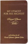 My Utmost for His Highest Daily Planner - 2000 - Multnomah Publishers Inc., John Van Diest