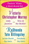 Victoria Christopher Murray and ReShonda Tate Billingsley's Pastors' Wives 4-Bo: Lady Jasmine, Sins of the Mother, Let the Church Say Amen, Everybody Say Amen - Victoria Christopher Murray, ReShonda Tate Billingsley