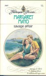 Savage Affair (Harlequin Presents, #1045) - Margaret Mayo