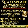 SHAKESPEARE COMMENTARY AND SHAKESPEARE BIOGRAPHY ULTIMATE EDITION - 3 AMAZING COMMENTARIES from 3 Literary GIANTS PLUS Full Length Shakespeare Biography - With Detailed TABLE OF CONTENTS - Samuel Johnson, Taylor Coleridge, Samuel, William Hazlitt, Algernon Charles Swinburne, Sidney Lee, Darryl Marks