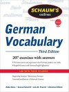 Schaum's Outline of German Vocabulary, 3ed (Schaum's Outline Series) - Edda Weiss, Conrad J. Schmitt, Lois Feuerle